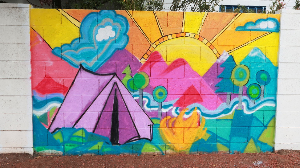 3. Detail phoenix mural festival mountai