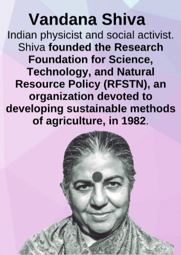 Know Your Heroes - Vandana Shiva -Phoenix Mural Celebrating Women of Color Fighting the Climate Crisis