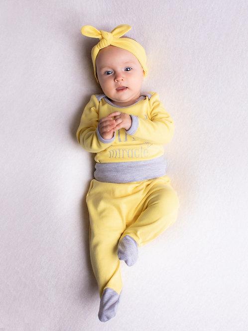 Комплект Small miracle желтый