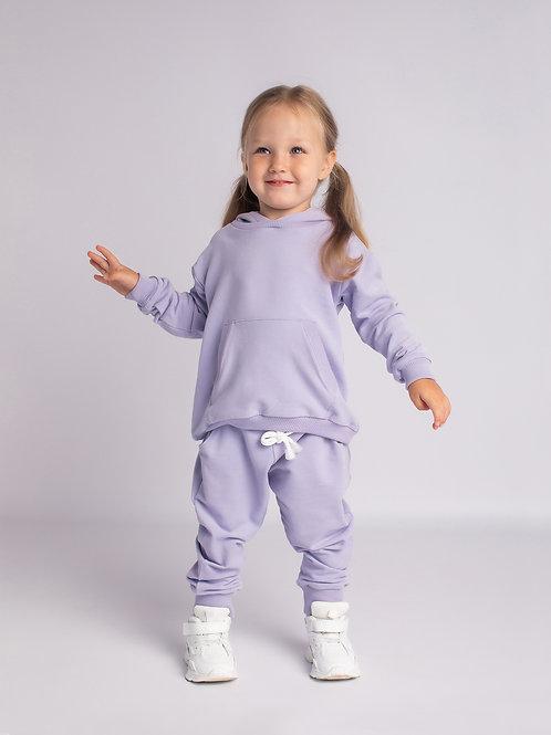Комплект с брюками лиловый