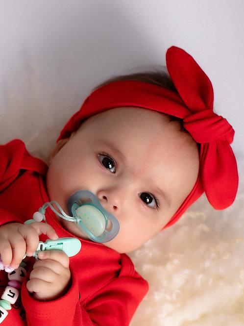 Повязка-солоха красная