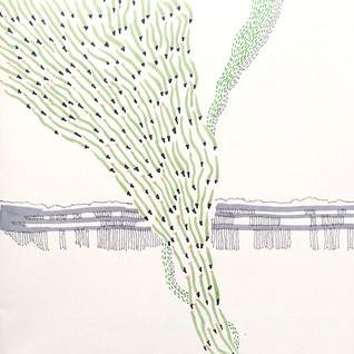landscape (pencils)