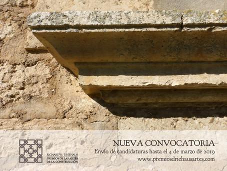 Publicación de la Convocatoria 2019 de Premios Richard H. Driehaus de las Artes de la Construcción