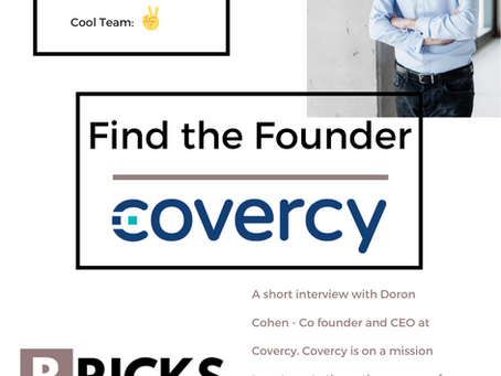 Find the Founder- Meet Covercy
