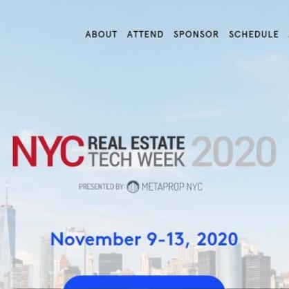 NYC Real Estate Tech Week