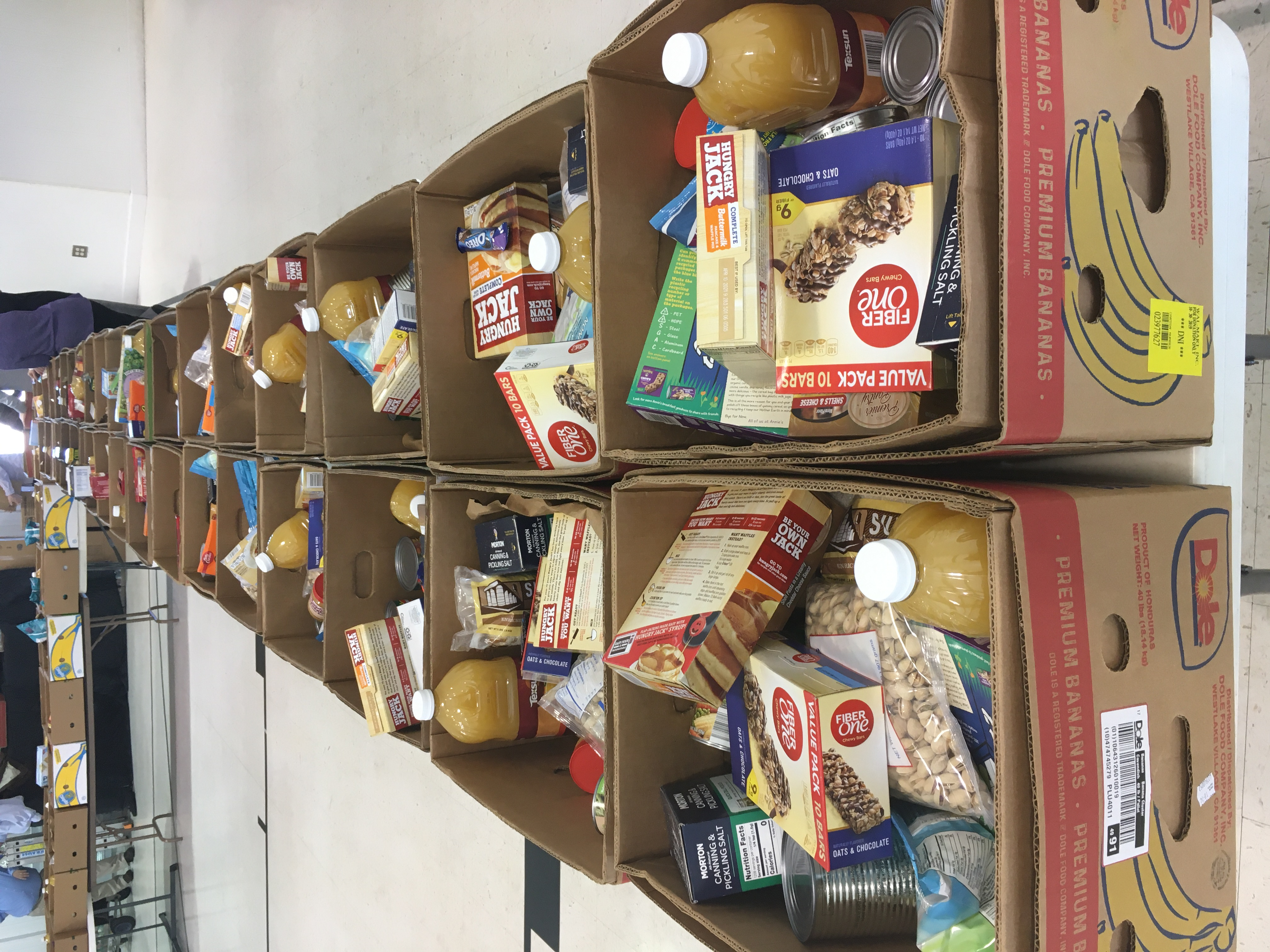 Food Pantry Boxes