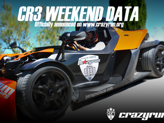 Cr3 weekend data announce!