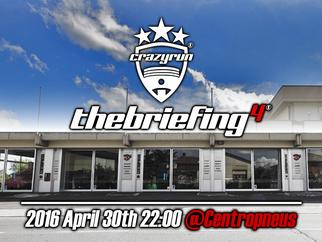 #thebriefing: il primo evento ufficiale 2016!