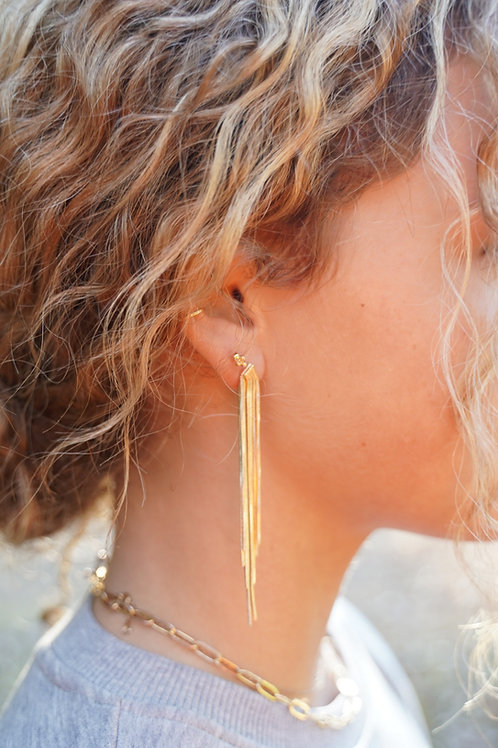 High Class Tassel Earrings