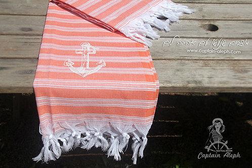 Orange - מגבת חוף