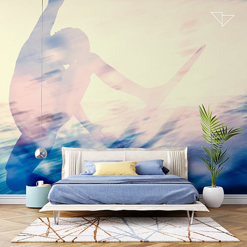 עיצוב טפטים ומדבקות לקיר