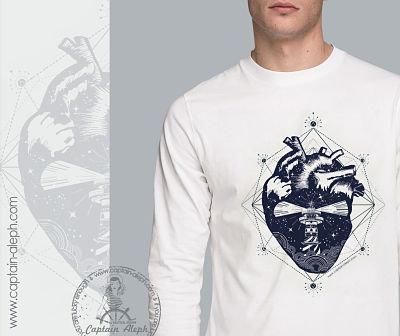 #Open Heart  T-shirt DryFit