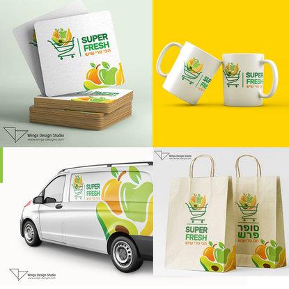 wings design studio branding logo design