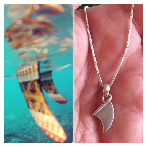 Surfboard Fin Necklace