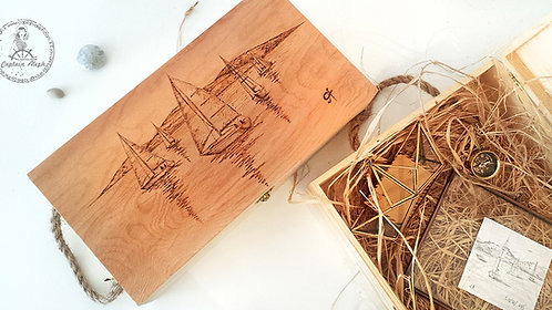 #WoodBox  מארז מעוצבת