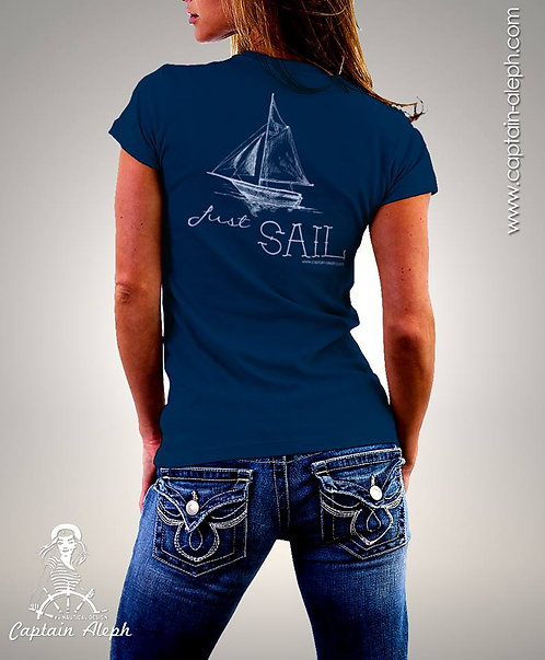 T-Shirt Captain Aleph 1263 חולצות מודפסות