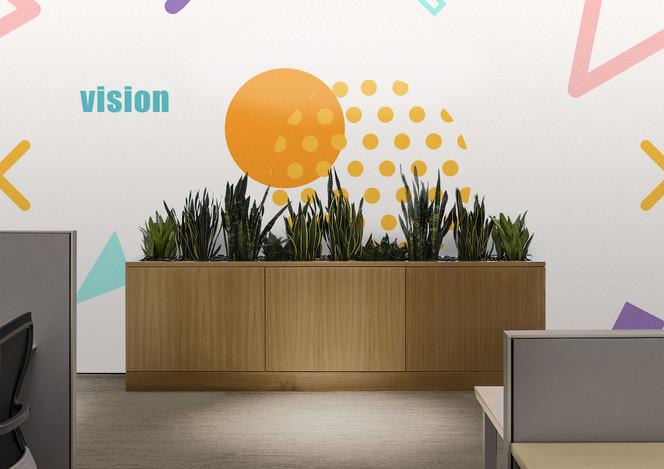 עיצוב מדבקות למשרד