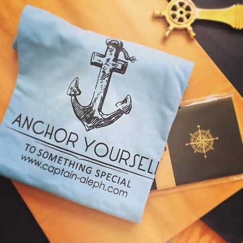 #Anchor yourself  חולצות מעוצבות
