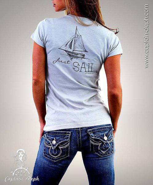 T-Shirt Captain Aleph 1261 חולצות מודפסות