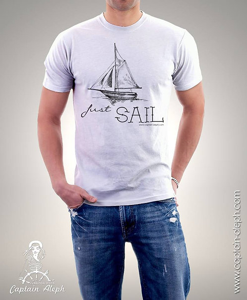 #JUST SAIL  חולצות מעוצבות