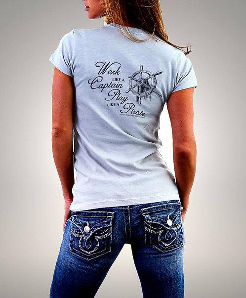 T-Shirt Captain Aleph 1257 חולצות מודפסות