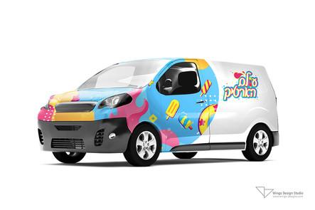 עיצוב מיתוג רכב חברה wings design studio