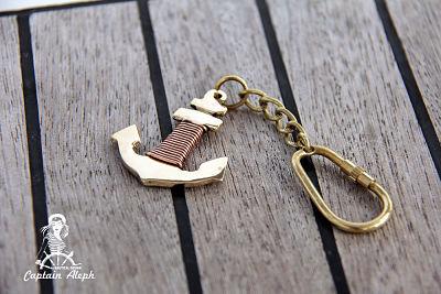 Anchor Key Chain - עוגן  #2 מחזיק מפתחות