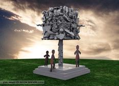 הדמייה תלת מימד לפסלים