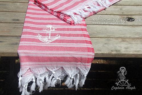 Red - מגבת חוף
