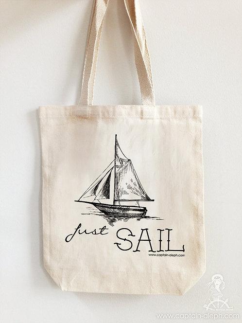 Nautical Bag Just Sail תיק מעוצב
