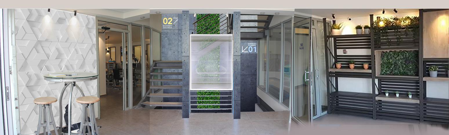 עיצוב כניסה למשרד