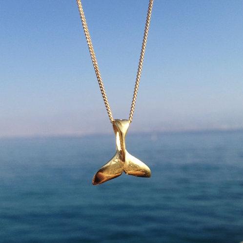 #Whale Tail Necklace שרשרת זנב לוויתן