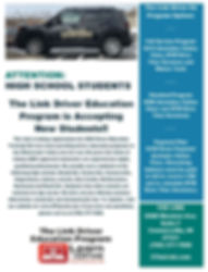 updated driver ed 2020 flyer pic.JPG