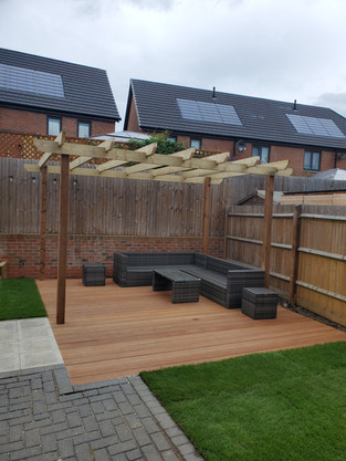 Pegola and Decking