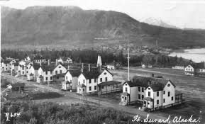 Fort Seward Barracks 1902