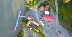 Arial view of River Adventures