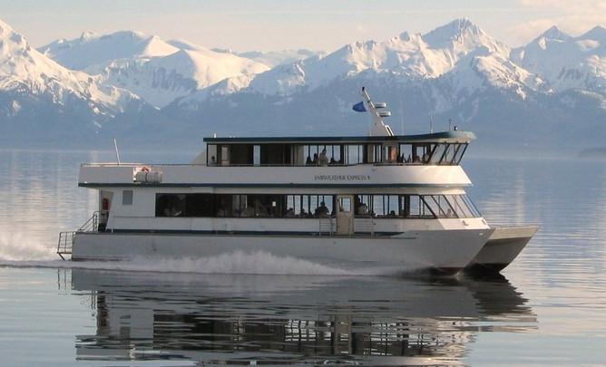 Fast Ferry transportation from Skagway t
