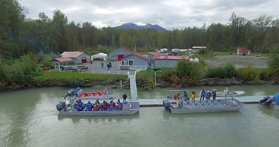 Chilkat River Adentures Dock