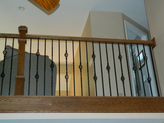 Stairway - Iron Spindles