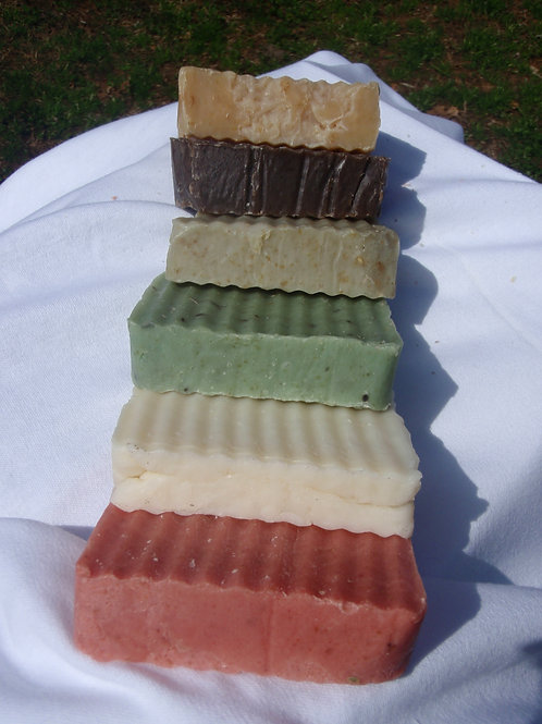 Solid Color Bar Soap