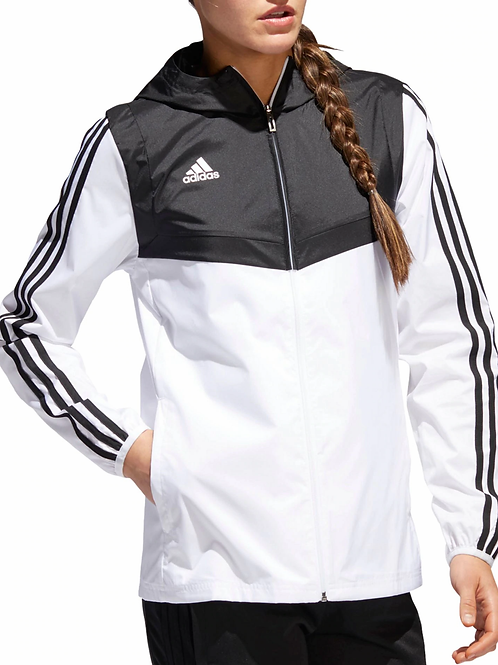 Adidas Women's Tiro Hooded Windbreaker Jacket