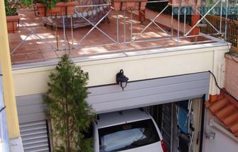 2nd garage and 1st floor's terrace.JPG