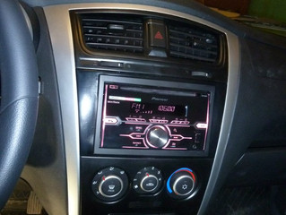Datsun On-Do установка ГУ и Акустики