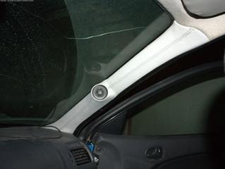 Mazda 323 подиумы под пищалки и миды