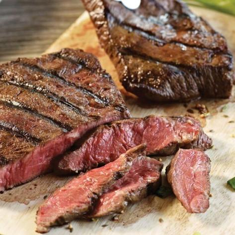 Flat Iron Sizzling Steak