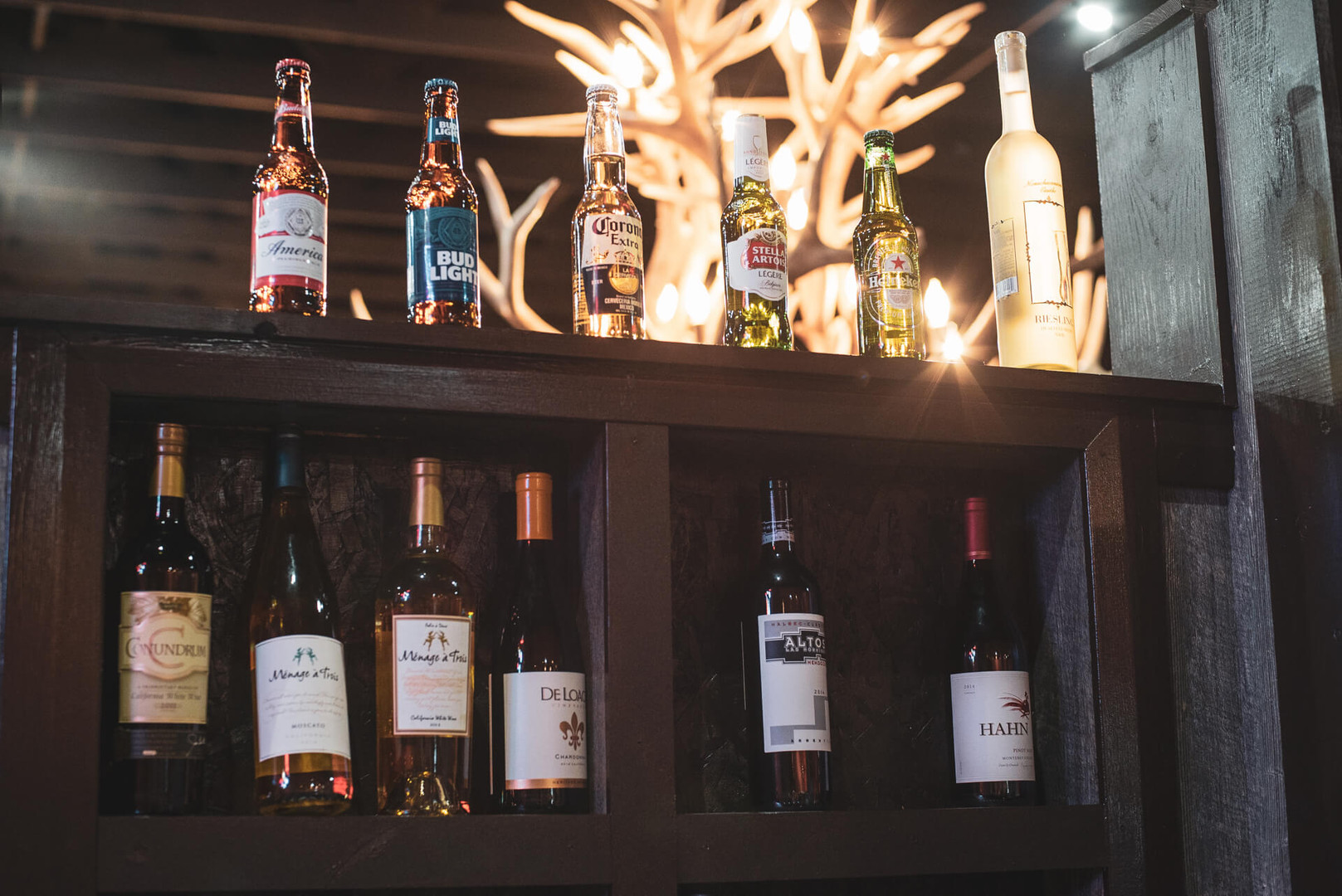 Largest Selection of Beer & Wine in Southern Utah at our bar
