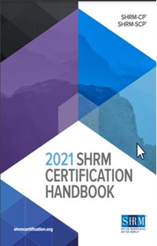 2021 SHRM Recertification - Big Changes!