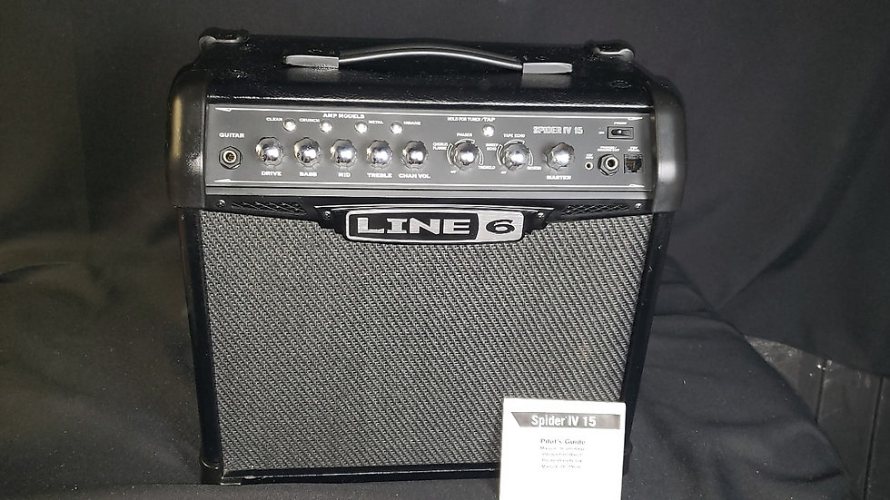 Line 6 Spider IV 15W Combo Amp