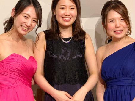 Trio concert 大盛況!!!