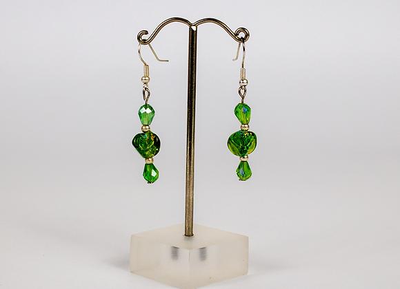Dichroic Earrings Set 2